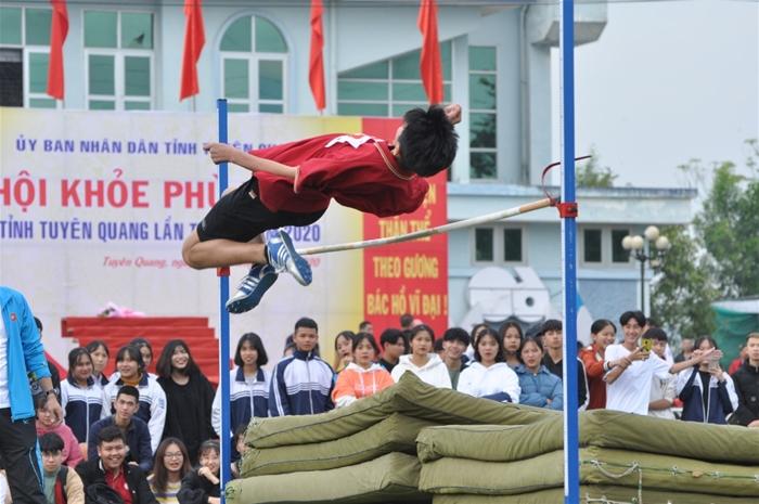 Một số hình ảnh thi đấu đẹp của Trường Phổ thông Tuyên Quang tại Hội khỏe phù đổng tỉnh Tuyên Quang lần thứ X, năm 2020